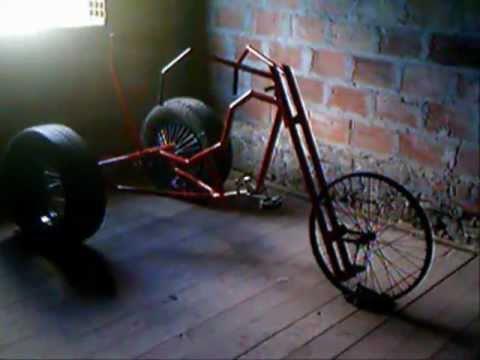 bici chopper 100% casera ricky - YouTube