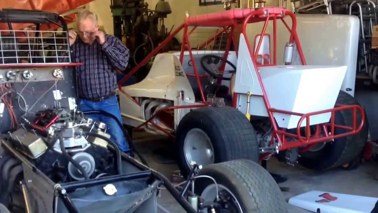 Bill cundiff 39 s vintage super modified sprint car at the for Garage sprint auto stains