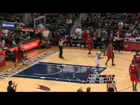 Raptors vs. Hawks | Game Recap | NBA 2012-13 Season 30/01/2013
