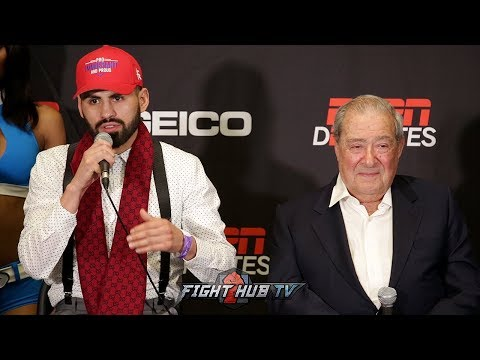 JOSE RAMIREZ VS AMIR IMAM FULL FINAL PRESS CONFERENCE & FACE OFF VIDEO