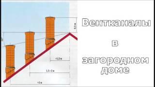 Выпуск 3. Вентканалы в загородном доме(, 2013-11-24T13:29:16.000Z)