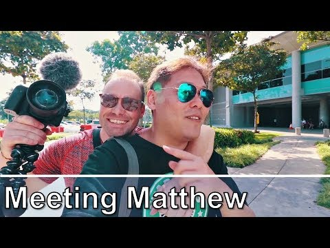 Meeting another Youtuber - Matthew O'Connor TV