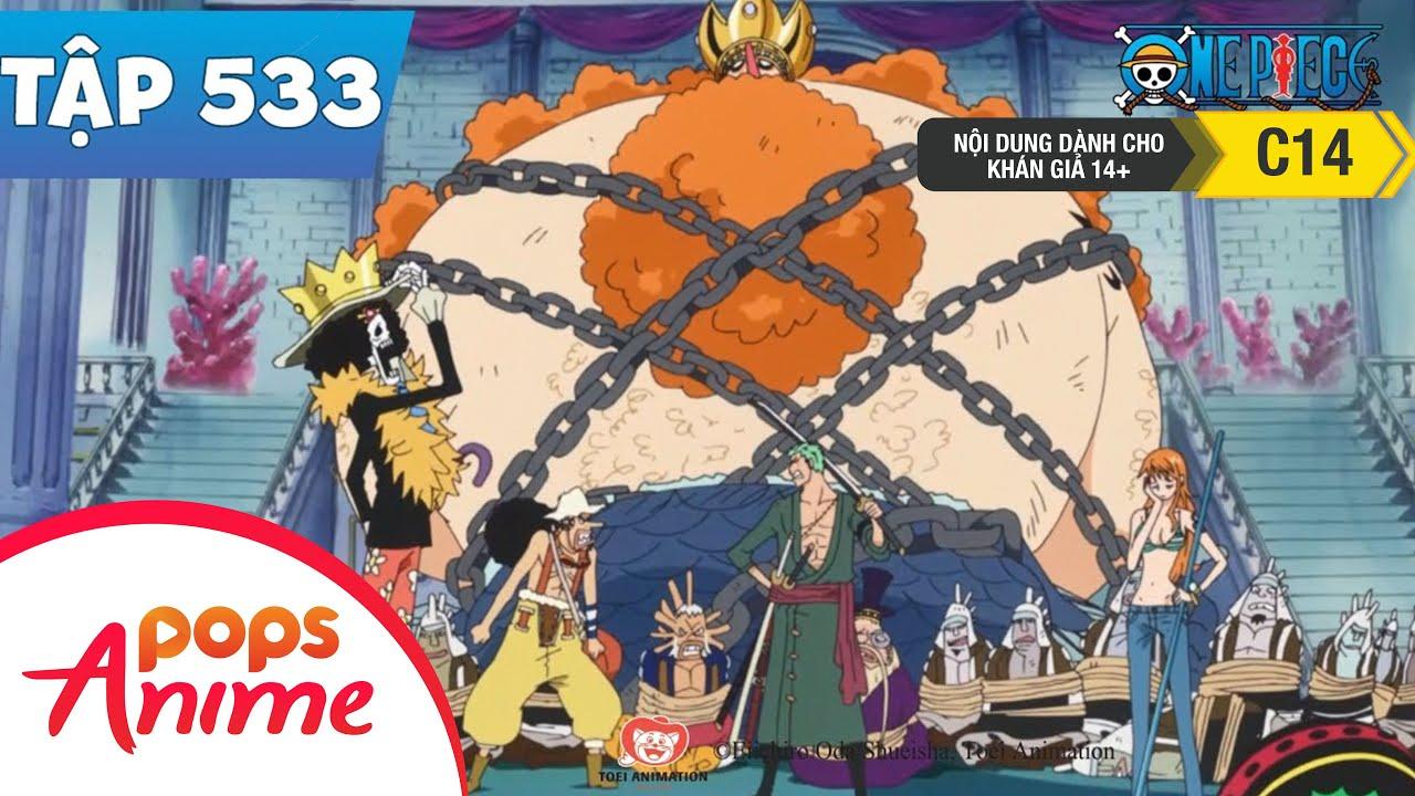 One Piece Tập 533 - Phát Sinh Tình Huống Khẩn Cấp. Long Cung Thành Bị Chiếm Đóng - Đảo Hải Tặc