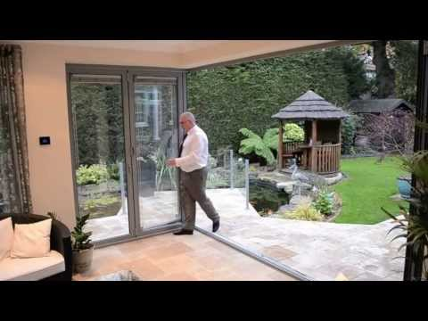 BiFold Doors 6Door Corner BiFolding door from
