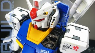 PG RX-78-2 - Part 8: the REAL build - First Gundam 0079 plastic model kit