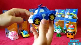 Обзор Серии игрушек Робокар Поли