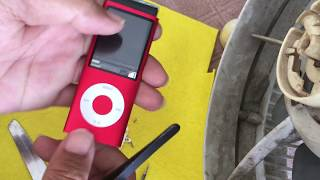iPod Nano gen 4th :  disassembly and reassembly