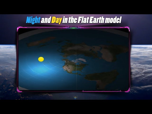 Night and Day in the Flat Earth model | Česko VideoTopka.ru