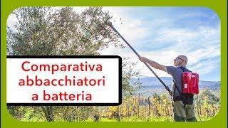Comparativa abbacchiatori scuotitori per olive a batteria con prezzo