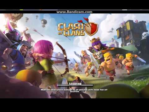 Playing Clash Of Clans On Pc (BLUESTACKS)