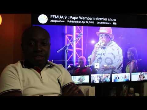 Malick Sidibe rend un hommage au chantre de la rumba Papa Wemba et nous parle des activites de la Di