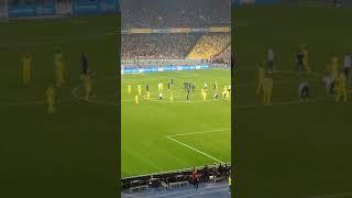 Україна - Португалія - атмосфера стадіону Олімпійський