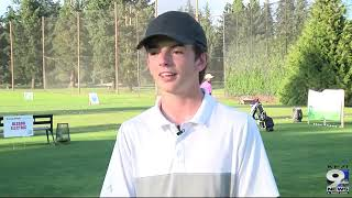 Scoliosis patient receives unforgettable golf experience
