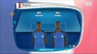 EURO 2016 final: France line-up v Portugal