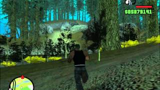 GTA-SA-MYTHS movie: on the search of bigfoot part one.