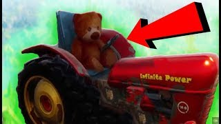 FORTNITE TEDDY BEAR EASTER EGG! Fortnite Battle Royale Secrets - Oeufs de Pâques