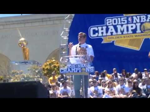 Rick Welts Speech At Warriors Parade Rally Oakland - YouTube