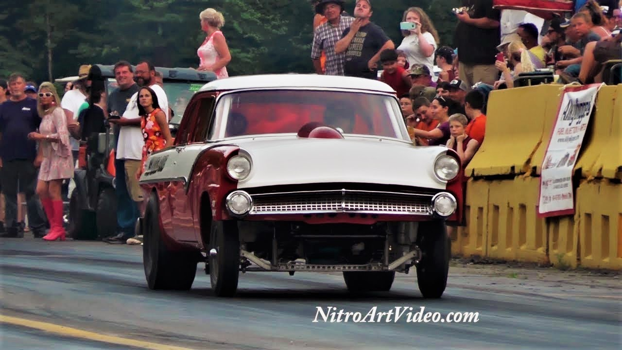 Shady Side Dragway 2018 Southeast Gassers Association Drag Racing (NT) No  Time