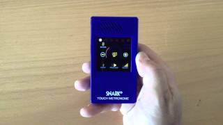 Snark Touch Screen Metronome Video