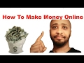 How To Make Money Online 2017 Ways To Generate Passive Income 2017