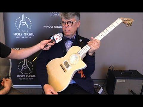 Holy Grail Guitar Show '18 - H Guitars H Cutaway Demo