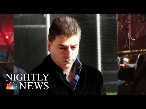 Reputed Mafia Boss Gunned Down Outside New York City Home  NBC Nightly News