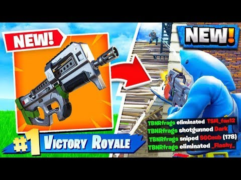 *NEW* Fortnite COMPACT SMG GAMEPLAY! - Fortnite Battle Royale