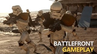 Star Wars Battlefront - Tatooine (Survival Gameplay)