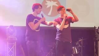 Danisnotonfire & Amazingphil Sexy End Screen Dance: Playlist Live