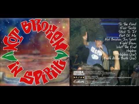 Not Broken In Spirit - Self Titled 2003