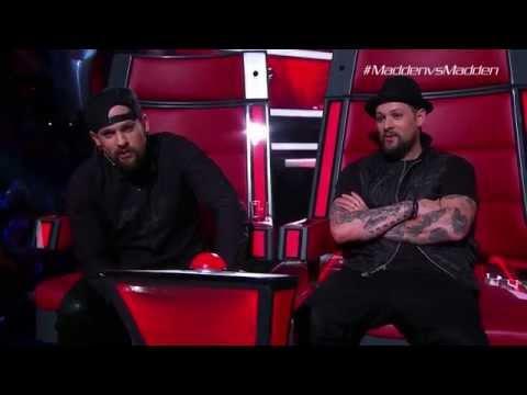 Joel And Benji Get Mad-den | The Voice Australia 2015