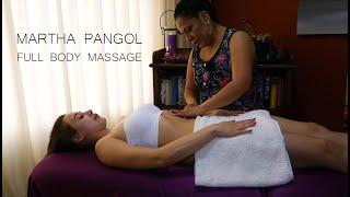 MARTHA ♥ PANGOL, RELAXING ECUADORIAN FULL BODY MASSAGE, ASMR, Dukun, Pembersihan, Cuenca Limpia