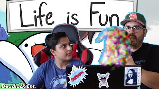 My Dad reacts to: Life is Fun - odd1sout Ft. Boyinaband (Official Music Video)