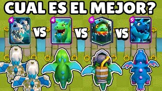 WHAT IS THE BEST DRAGON? | DRAGON OLYMPICS | 1vs1 | NEW SKELETON DRAGONS | CLASH ROYALE