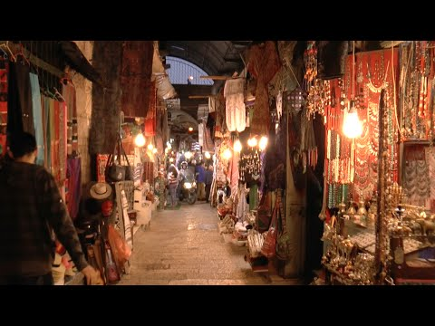Enchanting Arab Market Walkthrough | Jerusalem (HD)