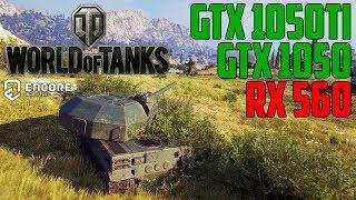 World of Tanks enCore v0.1 - GTX 1050 | GTX 1050 Ti | RX 560