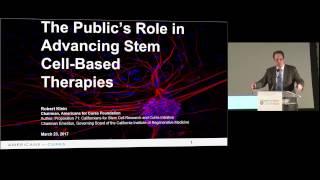 #CIRMSymposium: Keynote Address III - Robert Klein