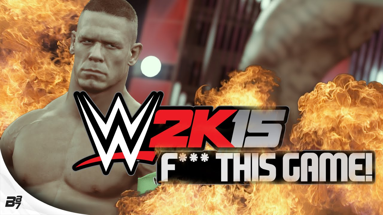 WWE 2K15! F*** THIS GAME!!! (WWE 2K15 Online Match)