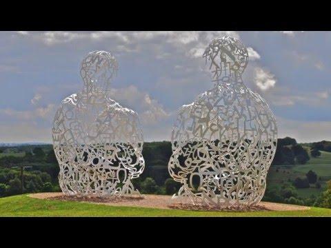 Jaume Plensa at Yorkshire Sculpture Park