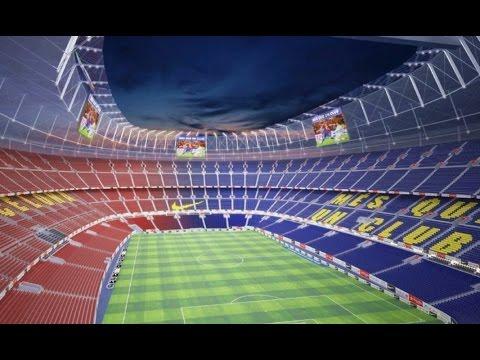 15 AMAZING Futuristic Football Stadiums 2018-2024 | Ft. Real Madrid, Barcelona