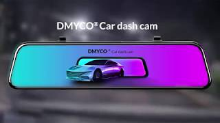 Backup Camera Rearview Mirror Dash Cam for Cars 【2019 NEW VERSION】