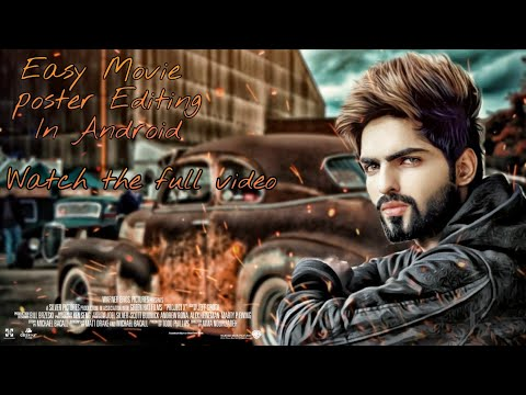 2018 Picsart New Style Photo Manipulation.😱 Real Movie Poster Editing In Snapseed || Jubin Shah ||