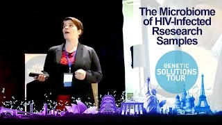 Analyzing the microbiome in HIV-infected samples using 16S metagnomics: Sandra Pinto Cardoso