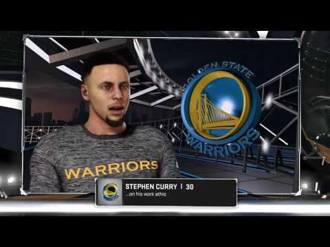 NBA 2K17 - Golden State Warriors vs San Antonio Spurs