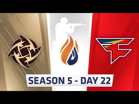 ECS Season 5 Day 22 NIP vs Faze - Inferno