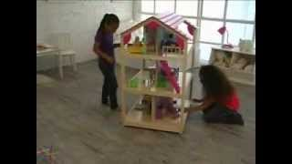 Kidkraft Dollhouse So Chic Rolls On Casters So Its Easy To Move To Any Play Area!