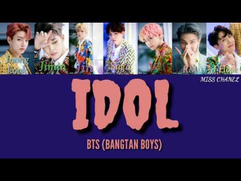 BTS (방탄소년단) - 'IDOL' [Lyric code Hang_Room_Eng]