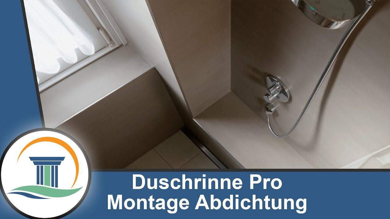 Abdichtung Der Duschrinne Pro Mit Ardex
