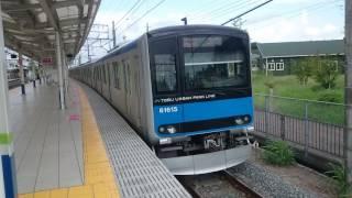 東武60000系61615F 東武アーバンパークライン急行柏行き 清水公園駅発車