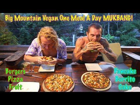 Big Mountain Vegan One Meal A Day MUKBANG! EPIC FEAST!